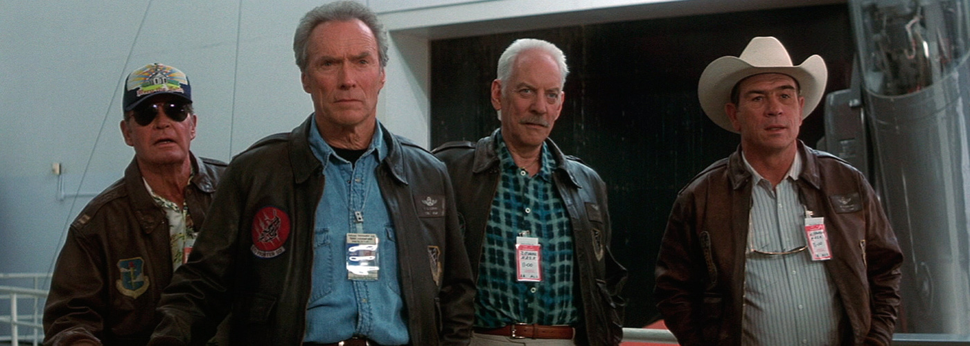 "Clint Eastwood, Tommy Lee Jones, Donald Sutherland i James Garner, a ""Space cowboys"""