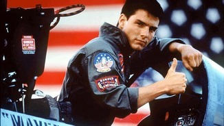"Tom Cruise a ""Top gun"", dirigida per Scott el 1986"