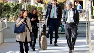 Marina Roig i Jordi Pina, advocats