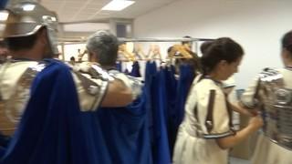 Les dones també fan d'armats a la Setmana Santa de Tarragona