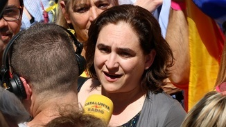 """Ada Colau: """"Estem en una època de regressió democràtica perillosa per tothom"""""""