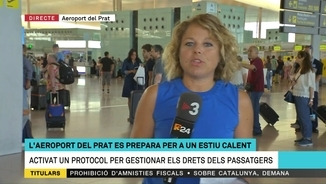 Temporada alta de vacances i d'incidències al Prat