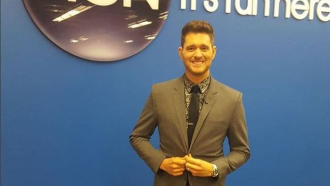 El cantant Michael Bublé (@michaelbuble)