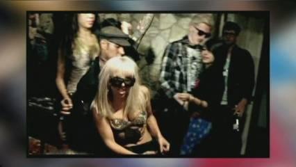 La Lady Gaga està molt animada!