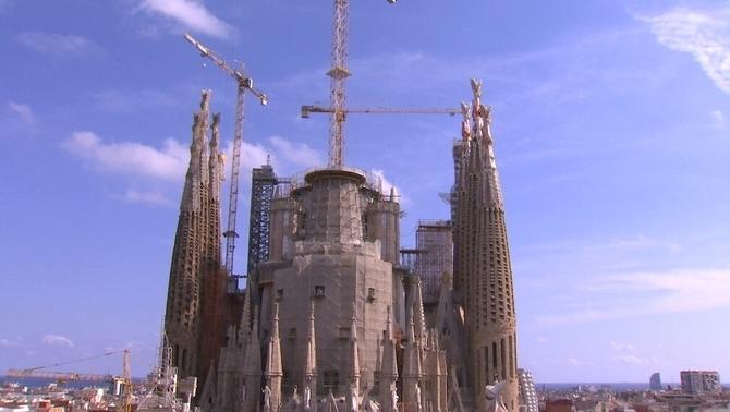 L'Ajuntament de Barcelona vol regularitzar les obres de la Sagrada Família