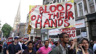 """Protestes Londres: """"Justícia per Grenfell"""""""