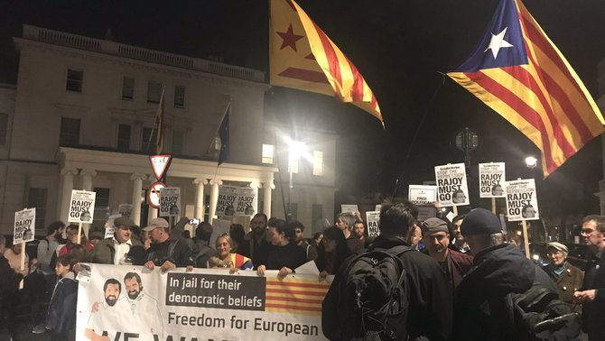 Rebuig, també fora de Catalunya, a l'empresonament dels Jordis