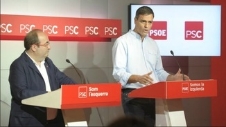 """Tertúlia: """"Al PSOE gairebé només li queda la E i el PSC està perdent fins i tot la C"""""""