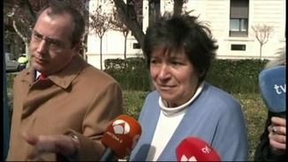 Mauricia Ibáñez, poc després de tenir els bessons, als 64 anys