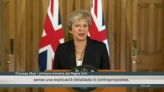 "Theresa May reclama ""respecte"" i ""alternatives"" a la UE en la negociació del Brexit"