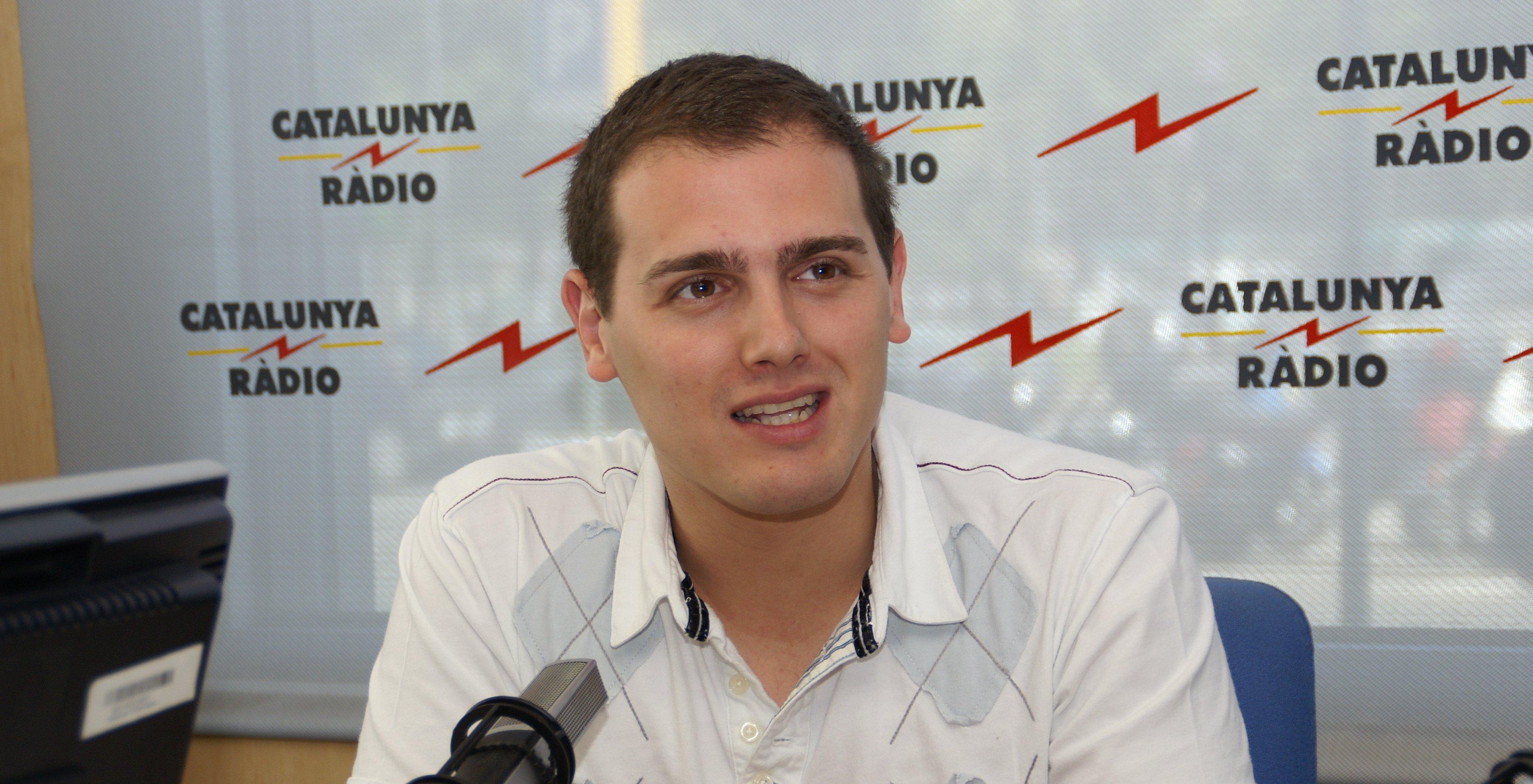 Albert Rivera President de Ciutadans Partit de la Ciutadania