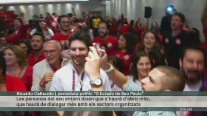 Rousseff guanya per 3 punts les presidencials al Brasil
