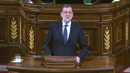 "Discurs de Mariano Rajoy: ""Espanya necessita un govern que pugui governar"""