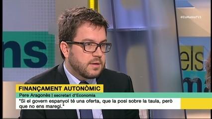 """Pere Aragonès: """"Si el govern espanyol té una oferta, que la posi sobre la taula, però que no ens maregi"""""""