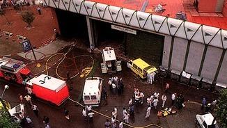 el centre comercial d'Hipercor, el 19 de juny del 1987