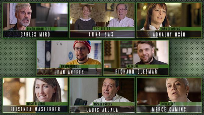 Els 8 restauradors que concursen al Capritx