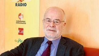 Antoni Castells, exconseller d'Economia i professor universitari a la UB