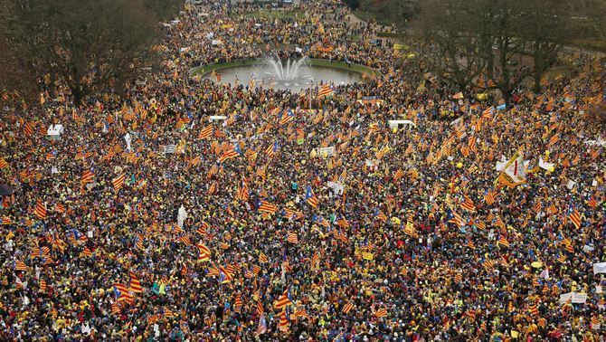 La preocupació dels espanyols per la independència baixa 8 punts al desembre