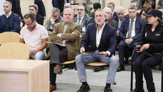 Els acusats de la branca valenciana de la Gürtel (EFE)