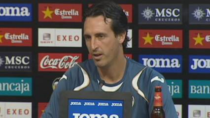 Unai Emery, optimista