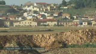Quinto de Ebro fa front a la crescuda del riu