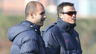 Pep Guardiola i Luis Enrique