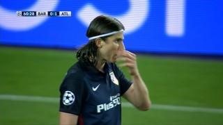 Les disculpes de Filipe Luís a Suárez, amb missatget