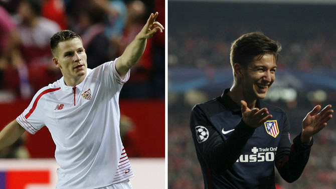 Kevin Gameiro i Luciano Vietto (Reuters)
