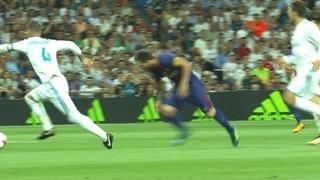 Al Bernabéu, Messi i Suárez van trobar a faltar Neymar