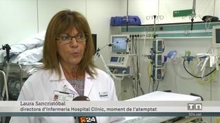 Els efectius sanitaris expliquen els primers minuts de l'atemptat