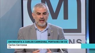 """Carlos Carrizosa: """"El govern ha de parar aquest cop a la democràcia i convocar eleccions de veritat"""""""