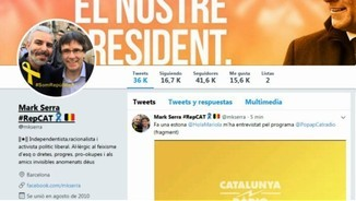 "Qui és Mark Serra, ""influencer"" independentista?"