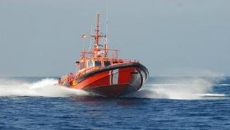 L'embarcació Salvamar de Salvament marítim a Tarragona.