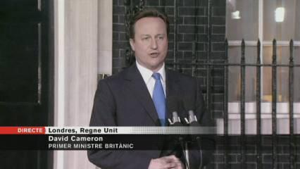 Primer discurs del nou primer ministre britànic<br />