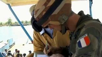 Soldat francès en una operació a Mali