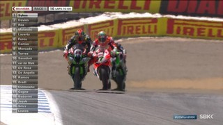 Mundial de Superbikes, Estats Units, cursa 1