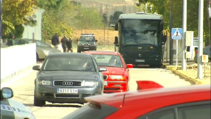 Forcadell surt de la presó després de pagar la fiança i dormir a Alcalá-Meco
