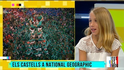 """Els castellers, a """"National Geographic"""", i amb Will Smith"""