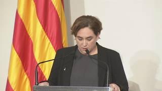 Declaracions Colau i Puigdemont