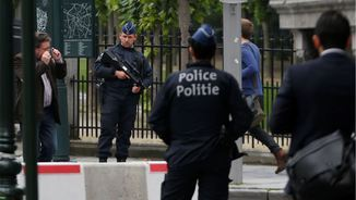 Desplegament policial a Brussel·les