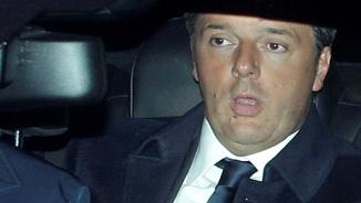 Renzi, a la seva arribada al Palau del Quirinal (Reuters)