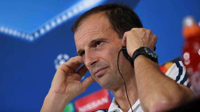 Massimiliano Allegri (Reuters)