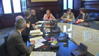 La mesa del Parlament presenta recurs contra el 155