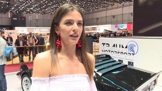El paper de les hostesses-model a debat en el Saló de l'Automòvil de Ginebra