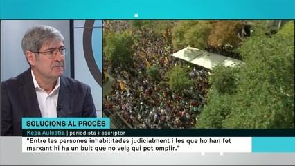 """Kepa Aulestia: """"No hi ha projecte polític per part de l'independentisme. Els partits polítics s'estan desfent"""""""