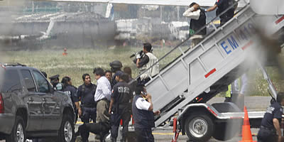 Forces de seguretat mexicanes alliberen el passatge de l'avió segrestat i detenen el segrestador