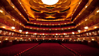 Auditori Metropolitan Opera House at Lincoln Center NY