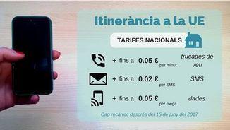 """Les tarifes rebaixades del """"roaming"""""""