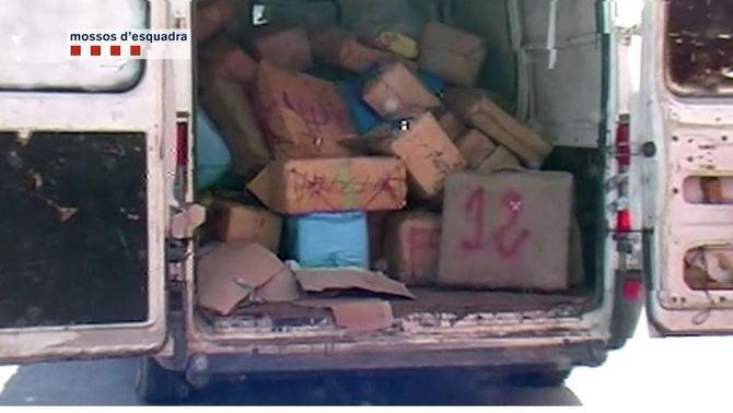 Desmantellada al Delta de l'Ebre una organització dedicada al tràfic internacional d'haixix