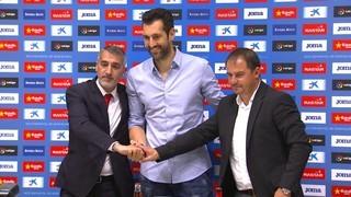 L'Espanyol presenta Diego López